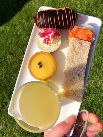 A selection of the Royal afternoon tea treats